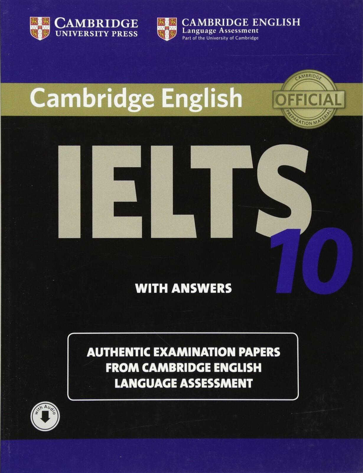 Cambridge IELTS 10 Student's Book with Answers PDF Download